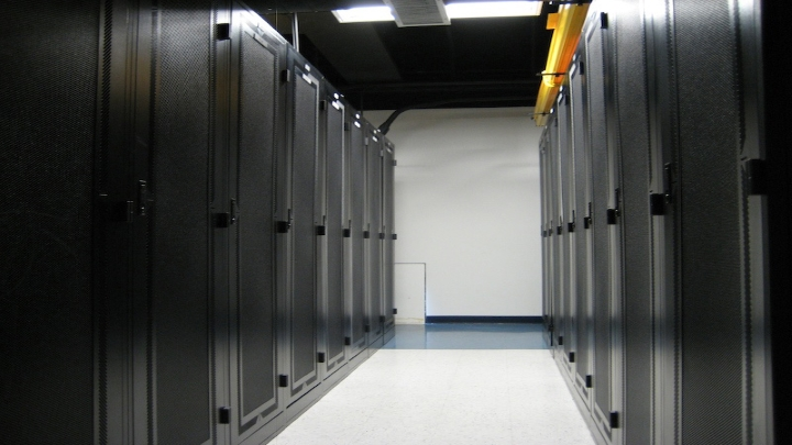 Picture of a server room