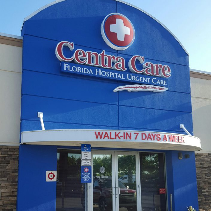 Picture of the outside of Florida Centra Care