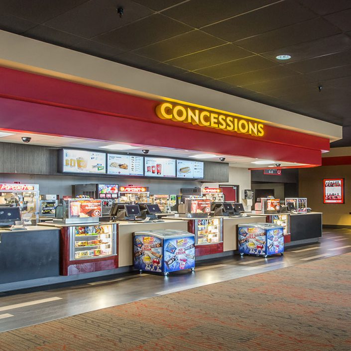 Picture of Regal Cinema's concession stand