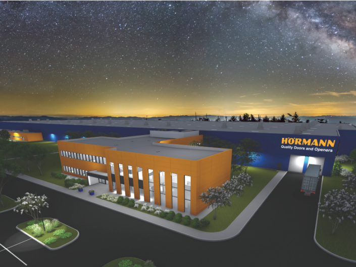 Hörmann Door Manufacturing Facility