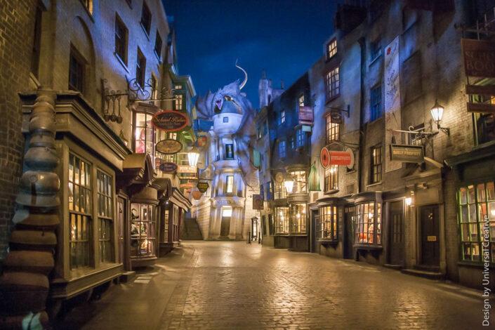 Universal Studios Harry Potter Diagon Alley